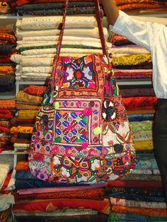 Patchwork HOBO - Hip/Tribal/Ethnic/Unique/Bohemian patchwork bag
