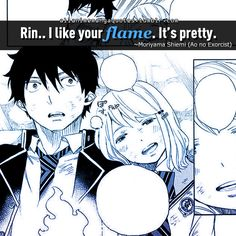Rin and Shiemi Blue Exorcist | Ao No Exorcist