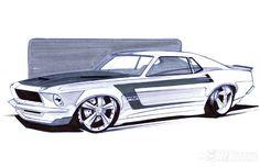Automotive Artist Sean Smith Designs