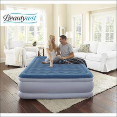 simmons beautyrest inflatable mattress
