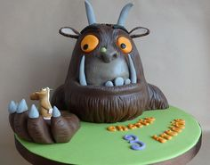 gruffalo birthday cake | GRUFFALO CAKE | Flickr - Photo Sharing! | Kid's Cake Gallery | Pinter ...