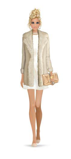 Fashion Girl / Ragazza alla moda - Art by Covet Fashion Game