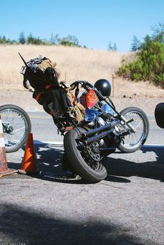 [HQ] Motorcycle Baby, Motorcycle Camping, Chopper Motorcycle, Harley Davidson Chopper, Harley Davidson Motorcycles, Cool Motorcycles, Vintage Motorcycles, Sportster Chopper, Hot Rods