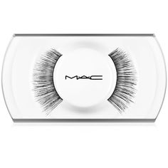 Mac 34 Lash ($17) ❤ liked on Polyvore featuring beauty products, makeup, eye makeup, false eyelashes, long false eyelashes, long fake eyelashes and mac cosmetics