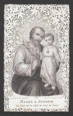 San José y el Niño, s. XIX