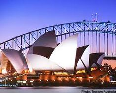 Sydney Australia.  I recommend it highly. The people alone make the long flight worth it, and then there're all the sights, the climate...