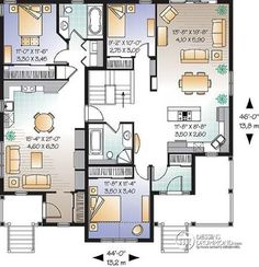 mother in law house plans | ... mother-in-law quarters or guest ...