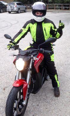 Zero SR Motorcycle Bell Helmet