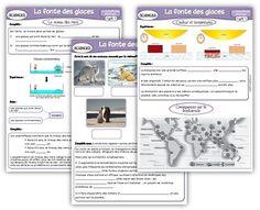 Sciences cycle 3 : Le réchauffement climatique