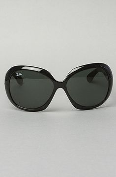 Ray Ban Sunglasses Oversized Jackie Ohh Tinted Framed Black: Karmaloop