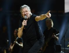 """Roger Waters performs at the """"12-12-12"""" concert to benefit victims of Hurricane Sandy  at Madison Square Garden http://celebhotspots.com/hotspot/?hotspotid=6449&next=1"""