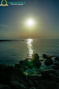 When the sun goes down to the waters edge...