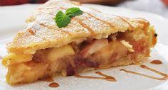 Sobremesa que não engorda: torta de frutas funcional com canela