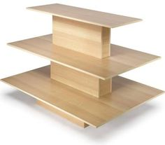 wood retail display tables - Google Search