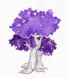 https://flic.kr/p/Sn7Xwt | Callifolio Violet / J.Herbin Violette Pensee | Top is J. Herbin and bottom is the Callifolio