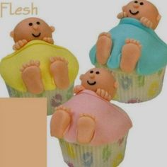 Baby cup cakes