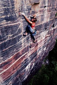 Dream bigger, reach higher! #climbing #climbinggirls #secondyou