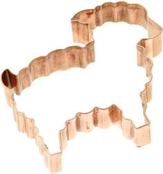 Old River Road Lamb Shape Cookie Cutter, Copper: Amazon.com: Kitchen & Dining