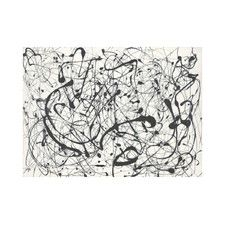 Number 14: Gray by Jackson Pollock Graphic Art