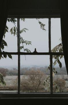 Through the window in Autumn, SONY,