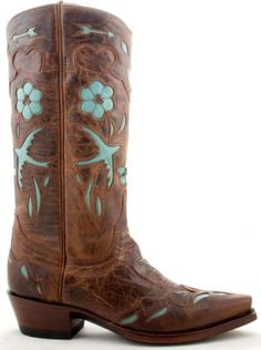 turquoise & cowboy boots. Must have!