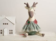 Princess Deer is soft toy friend