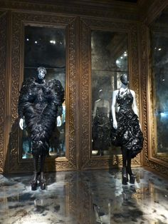Savage Beauty Exhibition at The V&A 2015.