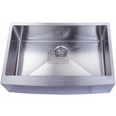 B923 Apron Front Sink w/ 15mm Radius Corners