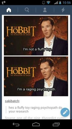 I'd like to think some of both. <-- He's a fluffy raging psychopath toy <3