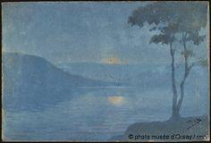Alphonse Osbert -  Lever de lune à Vichy, 1922 - Musée d'Orsay