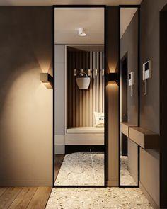 Modern Small House Design, Modern Bedroom Design, Home Entrance Decor, House Entrance, Corridor Design, Staircase Design, Interior Design Videos, Living Room Sofa Design, Kitchen Room Design
