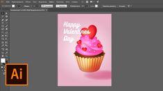 Создаём праздничную иллюстрацию ко Дню святого Валентина в Adobe Illustr...