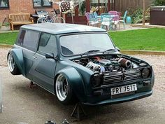 Proper set up Mini Countryman, Mini Clubman, John Cooper Works, Bmw E36, Classic Mini, Classic Cars, Carros Turbo, Mini Coper, Mini Cooper Custom