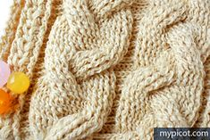 Ravelry: Crochet Cables pattern by MYpicot
