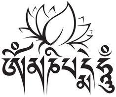 "Om Mani Padme Hum Sanskrit | OM MANI PADME HUM"" | Momentos Vacíos"