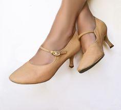 Vintage Dance Shoes .