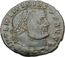 Licinius I Constantine The Great enemy 313AD Ancient Roman Coin Jupiter i55068