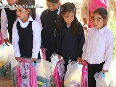 Cauquenesnet.com #DiaNoticias: Niños de Chanco y Pelluhue recibieron útiles escol...