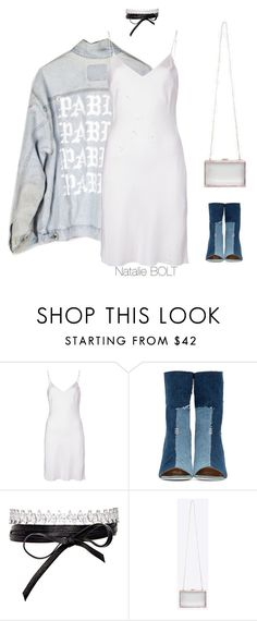 """""""No. 58"""" by beautybolt on Polyvore featuring Organic by John Patrick, Off-White, Fallon, denim, Yeezy, offwhite and beautybolt  beautybolt.wordpress.com"""