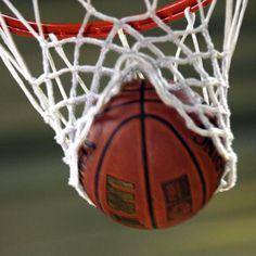 En toen gingen we basketballen we waren erg goed