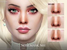 Realistic face contour for your sims.  Found in TSR Category 'Sims 4 Female Skin Details'