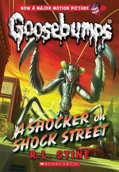 The original books featuring the scariest creatures from the Goosebumps movie, in theaters October 16, 2015! Erin Wright and her best friend, Marty, love horror movies. Especially Shocker on Shock Str
