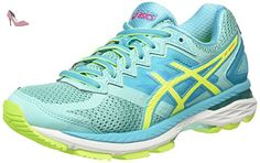 Asics GT 2000 4, Chaussures de Running Entrainement femme - Multicolore (Aruba Blue/safety Yellow/Aquarium), 39 - Chaussures asics (*Partner-Link)