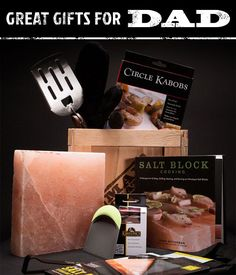 Perfect for Father's Day! Dads loves grillling, and we all love eating what he grills, so it's a win for everyone! | ManCrates
