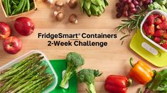 fridgesmart containers  csolis.my.tupperware.com 2 Week Challenge, Lemongrass Spa, Tastefully Simple, Valeur Nutritive, Good Environment, Kitchen Tools And Gadgets, Pampered Chef, Clean Eating, Food And Drink