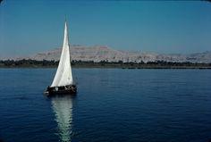 Nil bei Luxor. Dia_298-00216