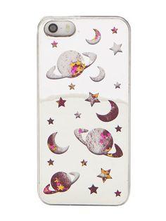 Skinnydip iPhone 5/5S Space Glitter Case