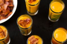 Butternut Squash Shooters with Bacon from ALDI  - Delish.com