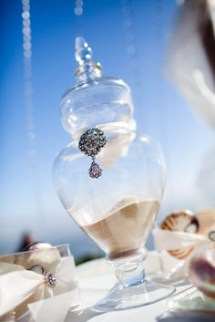Sand ceremony vase for the couple! Ask your Wedding Coordinator about getting a sand ceremony! Perfect Wedding, Our Wedding, Dream Wedding, Wedding Stuff, Wedding Reception, Wedding Ceremonies, Reception Ideas, Phuket Wedding, Destination Wedding