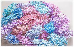 Мade with love: МК маленькие цветы.